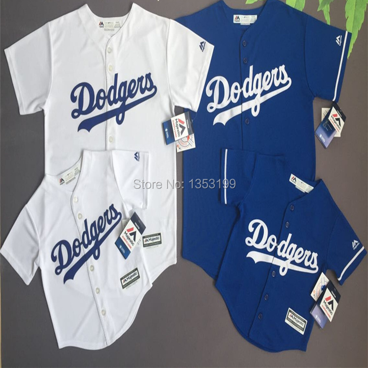 Baseball Jersey Los Angeles Dodgers Kids and Baby Game Jersey(China (Mainland))