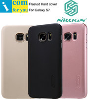 Nillkin Super Frosted Shield Cover Case For Samsung Galaxy S7 edge S6 Plus with 1pcs Screen film