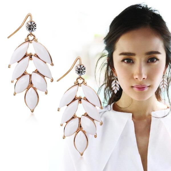 Free Shipping Earrings no pierced ear clip type drop earring long design fashion accessories  Min Order $20