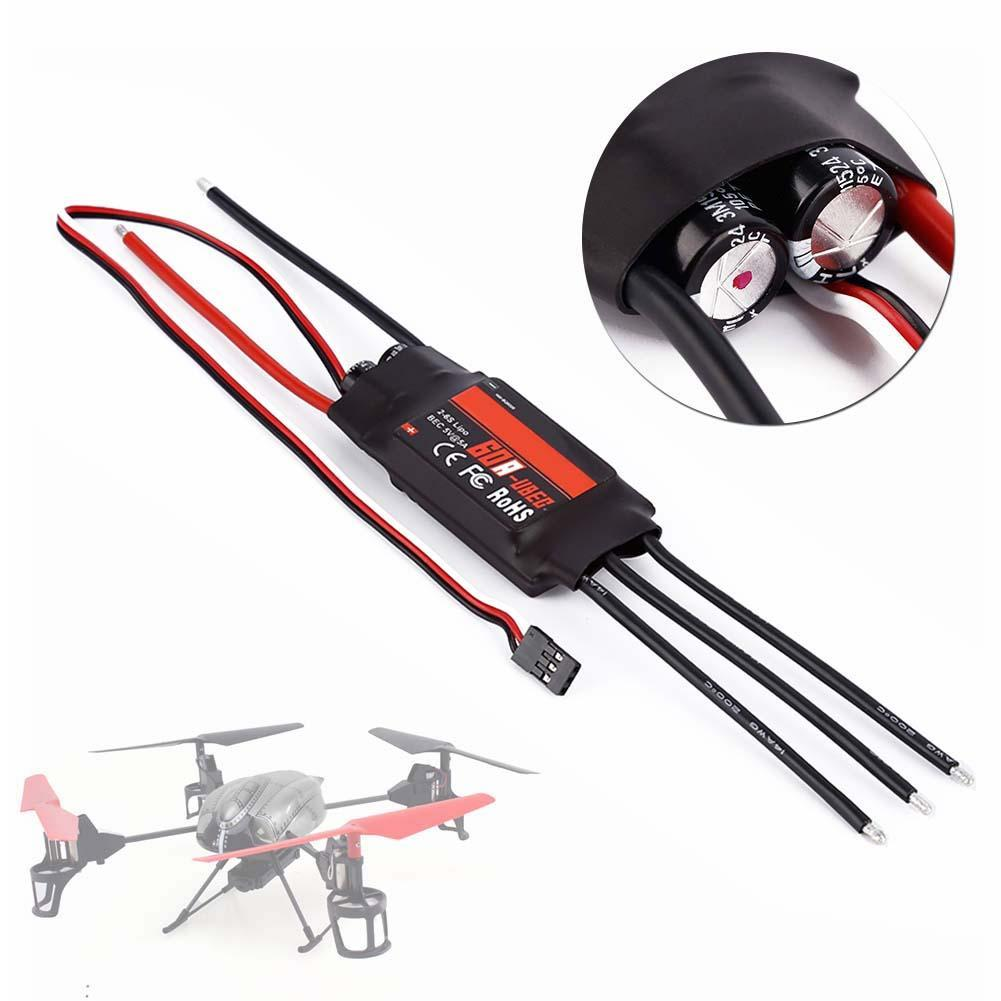 60A 2-6S Brushless ESC Speed controller RC Airplane for Hobbywing Skywalker A676(China (Mainland))