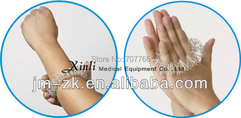 2015 Hot and New Stainless steel acupressure arm massager for healthcare(China (Mainland))