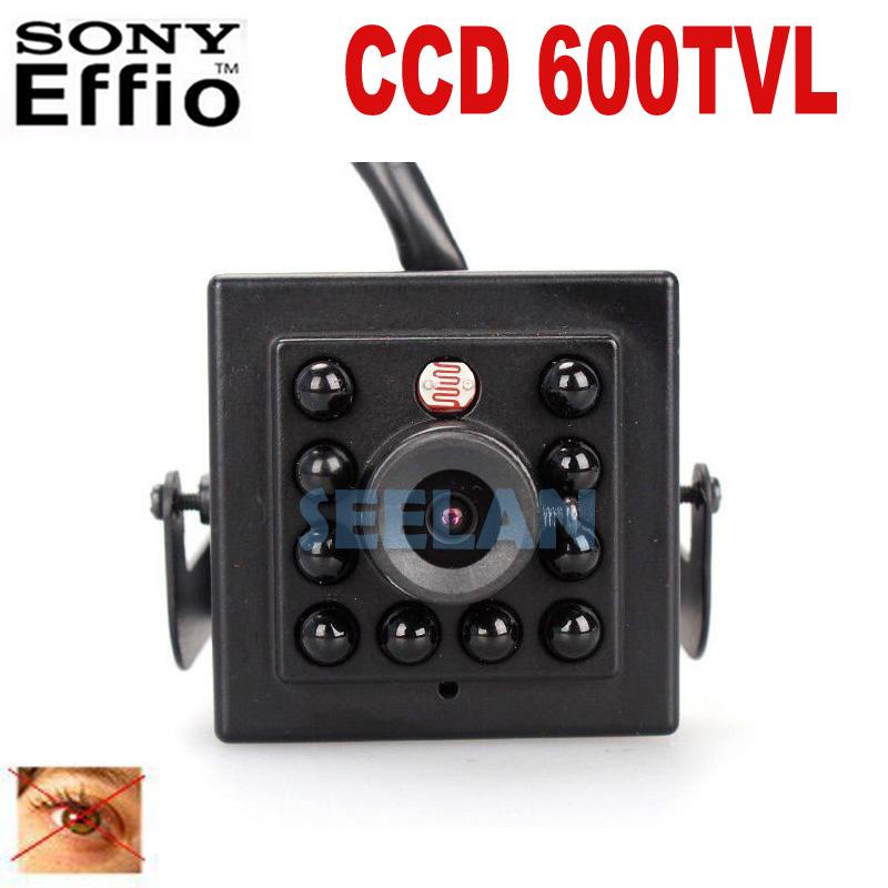 Night Vision CAMERA 600TVL Sony CCD Camera 1940nm led Security Indoor CCTV camera mini ir - Shenzhen Seelan Electronics Co. Ltd. store