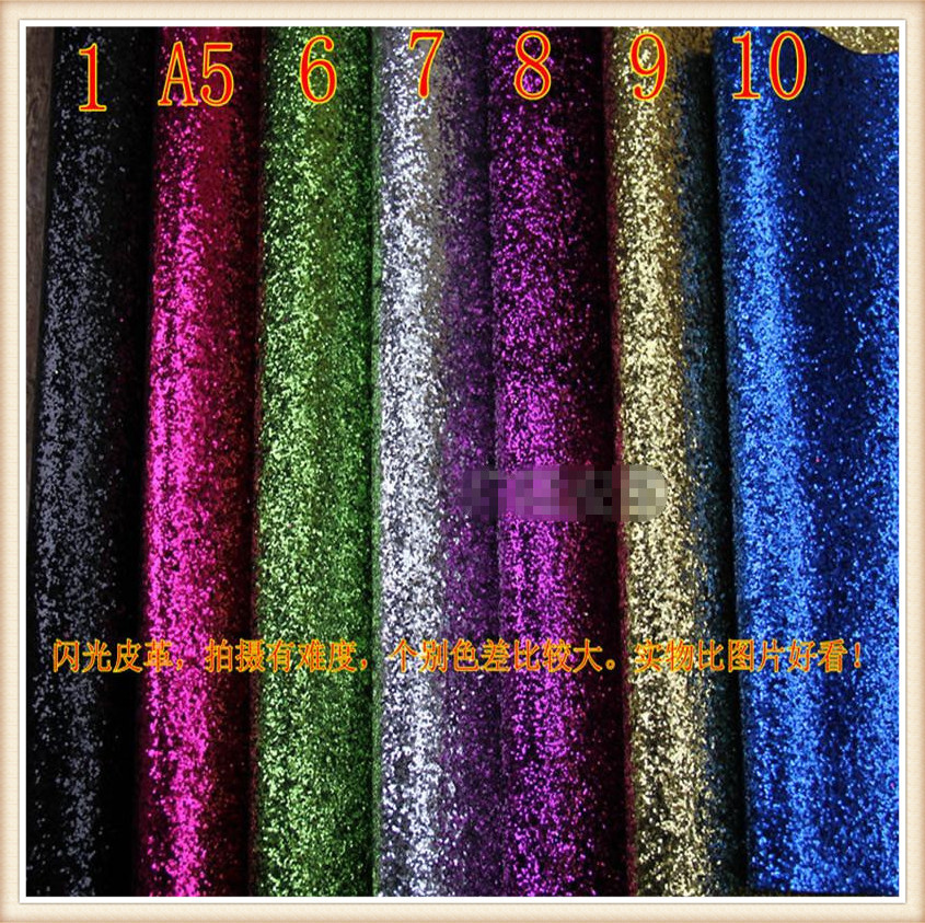 10 yards/lot Hexagon glitter leather material/ pu synthetic leather fabric/ glitter fabric for wallpaper/ glitter vinyl fabric(China (Mainland))