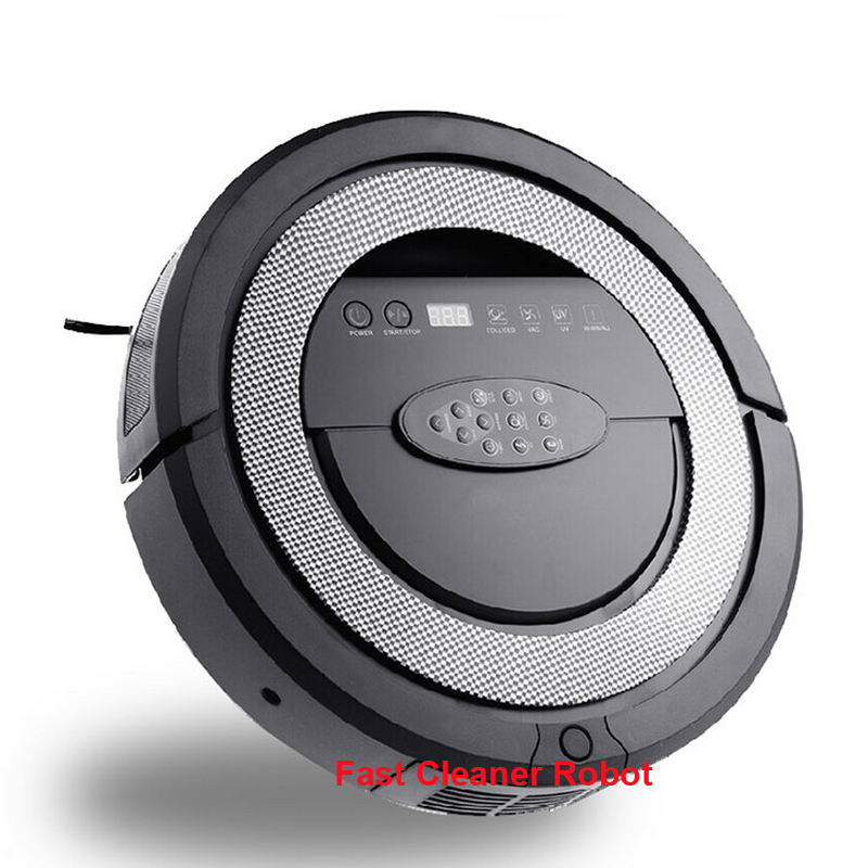(Big Discount for only 20pcs Robot,56% off )TOP-Grade 6 in1 Multifunctional Robot vacuum cleaner for Home Automatic Sweeping(China (Mainland))