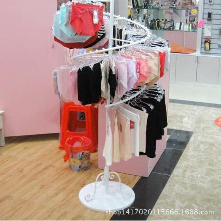 Within the European lingerie shop underwear underwear display clothing display rack shelf floor rack creative rotation<br><br>Aliexpress