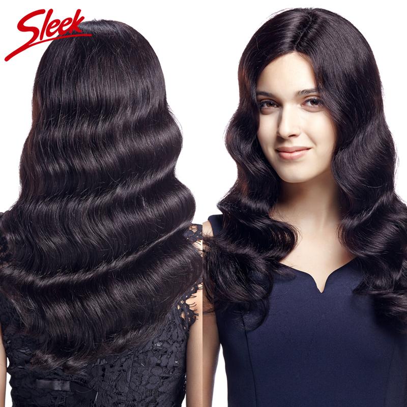 Sleek Body Wave 3 PCS/Lot 8A Brazilian Virgin Hair Deep Wave Mink Brazilian Human Hair Weave Bundles Human Hair Extensions Sale(China (Mainland))