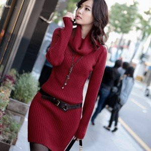 752 winter women clothes,sweater thicker version, 4 color, Cheap wholesale, Free Shipping