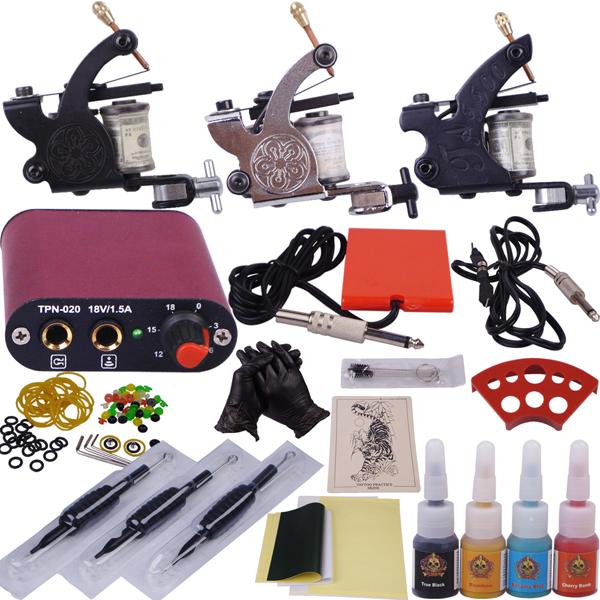 tattoo equipment cheap permanent makeup supply 3 guns