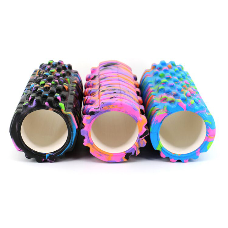 2016 new gym exercise eva Yoga foam roller for muscle Physio/High density foam roller yoga pilates massagr with Trigger Point(China (Mainland))