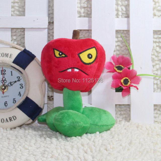 17 см растения против зомби игрушка плюш кукла украшения мягкий наполненный игрушки милый Cherry бомба плюш игрушки для дети