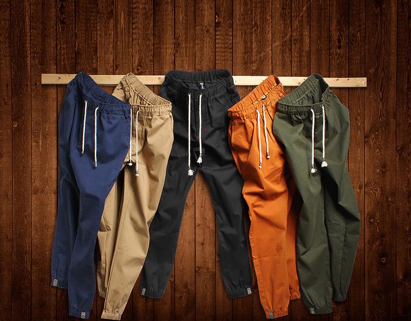 2015 autumn Men's Harem Pants Fashionable Personality Casual Hip Hop Dance Male Trousers joggers sweatpants big size 5XL - Bruce Store store