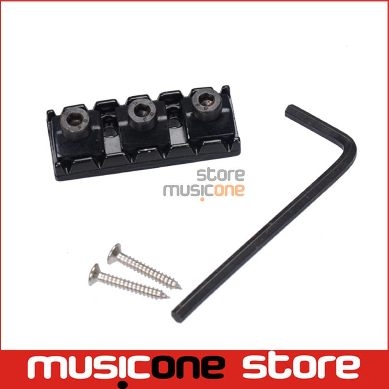 43mm Black Electric Guitar String Locking Nuts For Floyd Rose Tremolo Bridge(China (Mainland))