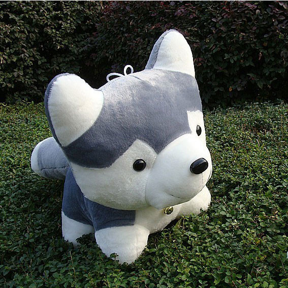 2016 new large husky dog super adorable dolls plush toys genuine factory direct wholesale children(China (Mainland))