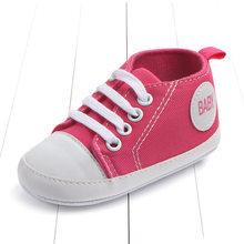 Nuevas zapatillas deportivas clásicas de lona zapatos antideslizantes para bebés recién nacidos y niñas para caminar por primera vez(China)