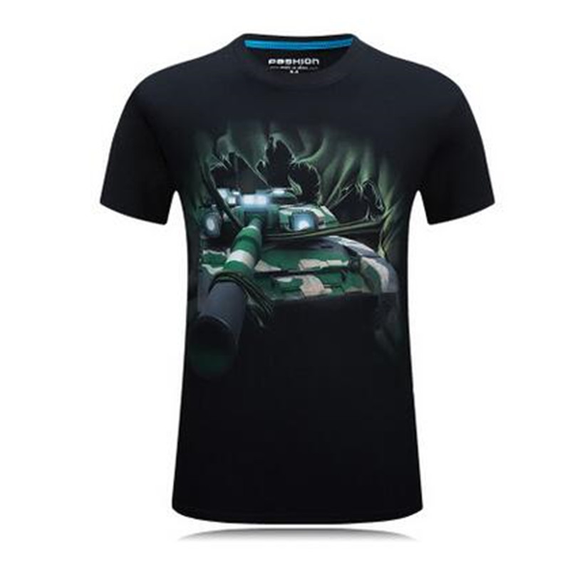 World Of Tanks T Shirts Plus Size Printing T Shirt Men 2016 Summer Tshirt WOT Punk Rock T-Shirt Fitness Tshirt Homme 6XL Одежда и ак�е��уары<br><br><br>Aliexpress