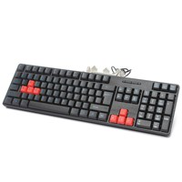 New Arrival 1pcs Ergonomic USB Wired Keyboard Office Standard 104 keys Gaming Game Keyboard For Laptop Desktop PC For Windows XP