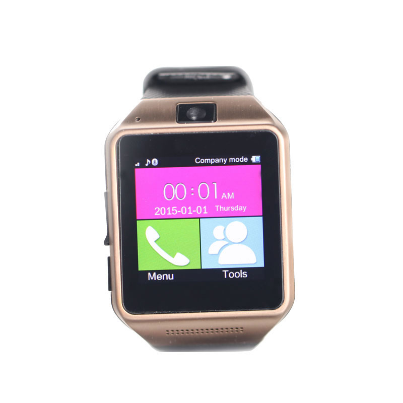 GV08A Wholesale touch screen MP3 Player Sport Fitness Pedometer Bluetooth Touch Screen Mobile Cell Phone Wrist Smart watch(China (Mainland))