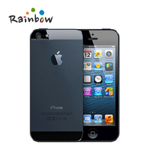 Original iPhone 5 IOS Factory Unlocked Cell Phone, IPS 8.0MP GPS 3G IOS System Used GSM Mobile(China (Mainland))