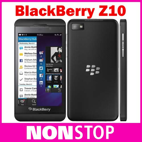 Z10 Original Blackberry Z10 Unlocked Mobile Phone 3G 4G Network 8.0MP Dual Core 2G RAM+16G ROM Refurbished(China (Mainland))