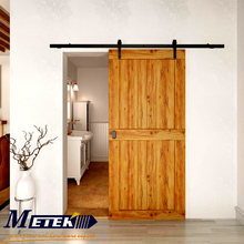 4.9FT/6FT/6.6FT Carbon steel interior sliding barn wood entry door hardware(China (Mainland))