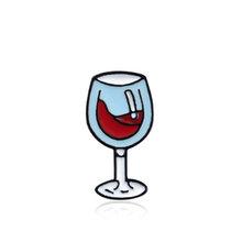2019 Baru 1 PC/1 Set Topi Anggun Sweter Wanita Anggur Merah Bros Dijual Hot Gadis Syal Botol kaca Anggur Waktu Rok(China)