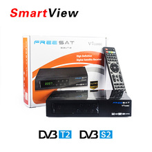 Buy Genuine Freesat V7 Combo HD Satellite Receiver DVB S2 + DVB T2 Combo Receiver Support PowerVu Biss Key Cccam Newcam Youtube for $40.99 in AliExpress store