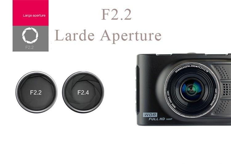 Voordelige Budget Cam 1080P Full HD dashcam 3,0 inch met WDR