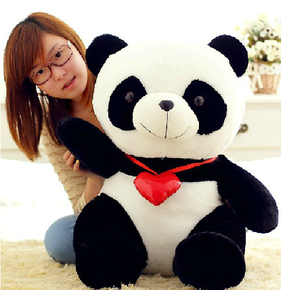 Brand new 30cm Manufacturers sell lovely panda plush toys gifts(China (Mainland))