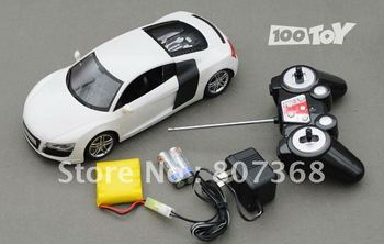 RC Car remote control sports car Audi R8 Audi sports suspension with variable-speed differential transmission remote control rem