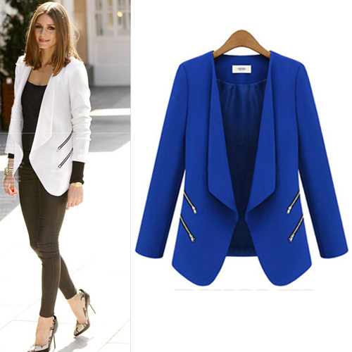 Ladies Blue Jacket