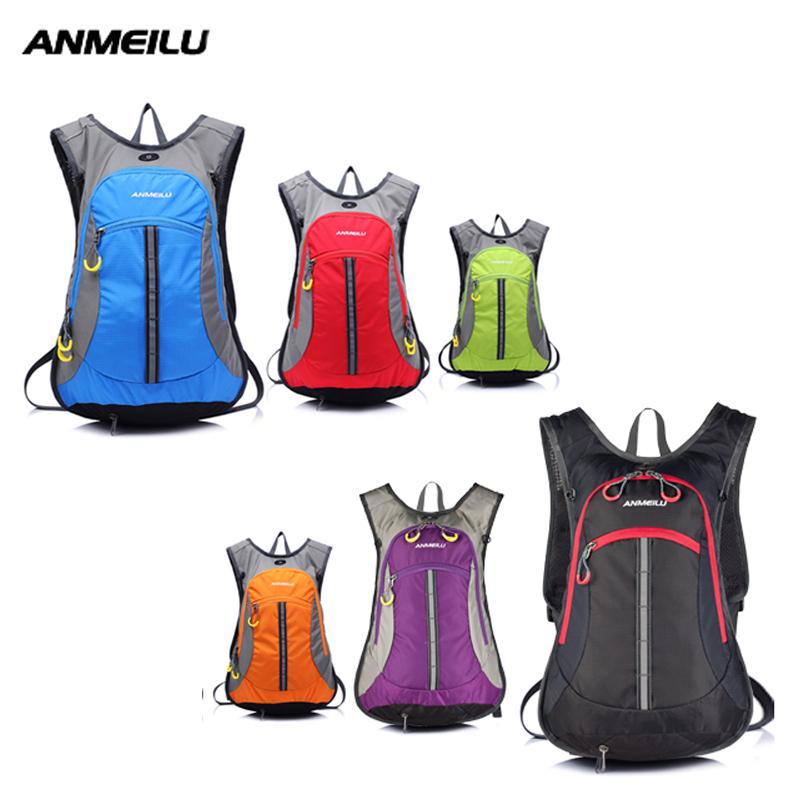 ANMEILU Waterproof 15L Outdoor Bag Climbing/Hiking/Cycling Backpack Helmet Net Design Breathable Rucksack Travl Bag+Water Bag<br><br>Aliexpress