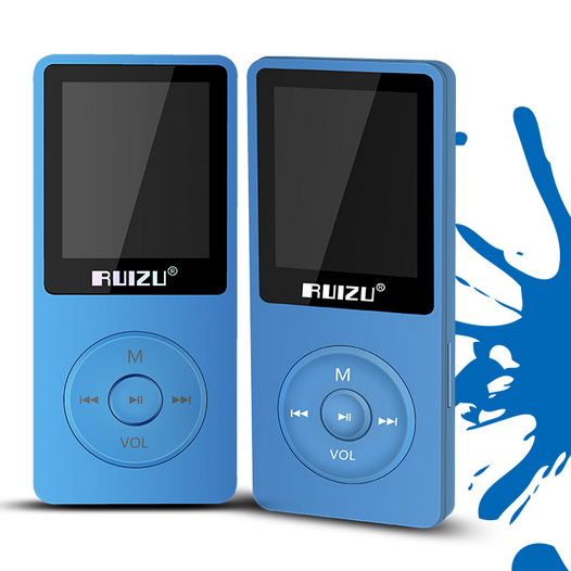 RUIZU-X02 Sport Music MP3 Player High Quality Lossless Flac Ape 4 GB MP3 1.8-inch Digital Screen U SB Flash Drive Full Tracking(China (Mainland))