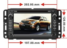 Rom 16 G 1024 * 600 Quad Core Android 4.4.4 FIT GMC Yukon Tahoe Acadia 2007 2008 2009 2010 -2012 Car head unit GPS TV 3G radio