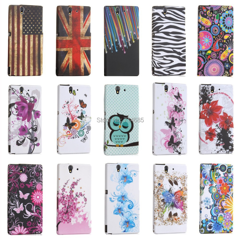 -Butterfly-Flowers-TPU-Gel-Phone-Case-for-Sony-Xperia-Z-L36i-L36h jpgXperia Z Phone Case