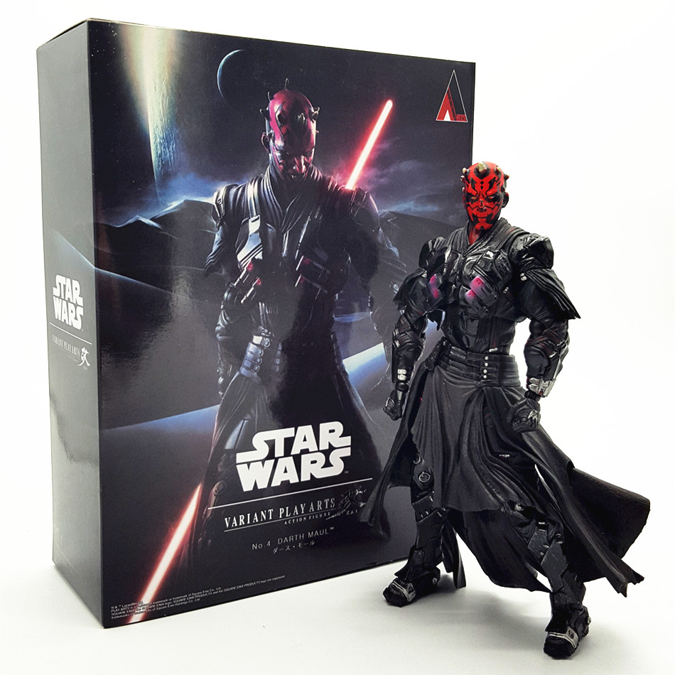 Star Wars storm Darth Maul Kai 26cm PVC Action Figure Model Toys Gifts Collection Kids Toys Free Shipping(China (Mainland))
