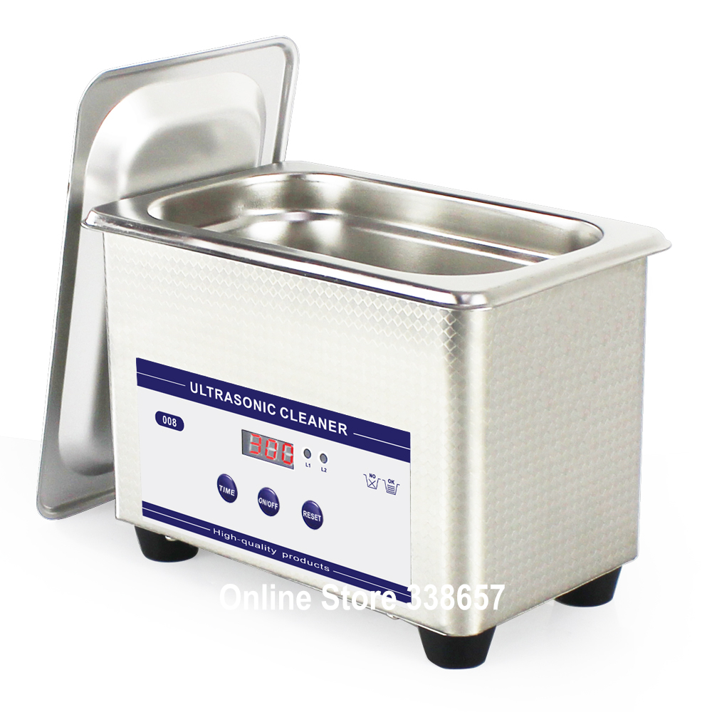 Compare prices on sonicator bath online shopping buy low for Stainless steel jewelry cleaner