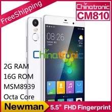 "Original Newman CM810 Fingerprint YunOS Mobile Phone MSM8939 Octa Core 4G FDD LTE 5.5""FHD 2G RAM 16G ROM 13MP (China (Mainland))"
