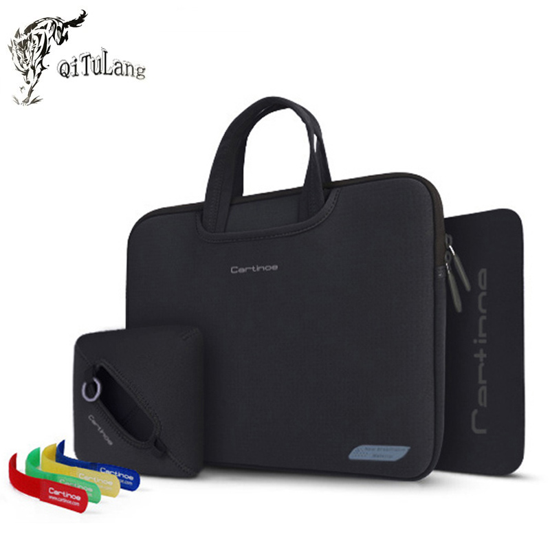 For Microsoft Surface Pro 4/ 3 11 13 15Inch Tablet Laptop 4 in 1 Portable Cotton Fabric Handle Carrying Sleeve Case Computer Bag(China (Mainland))