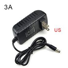 1Pcs 2835 SMD RGB LED Strip light 5M /44 Keys Remote Controller /EU US 3A Power Adapter For DIY Decoration lamp colorful ribbon(China (Mainland))