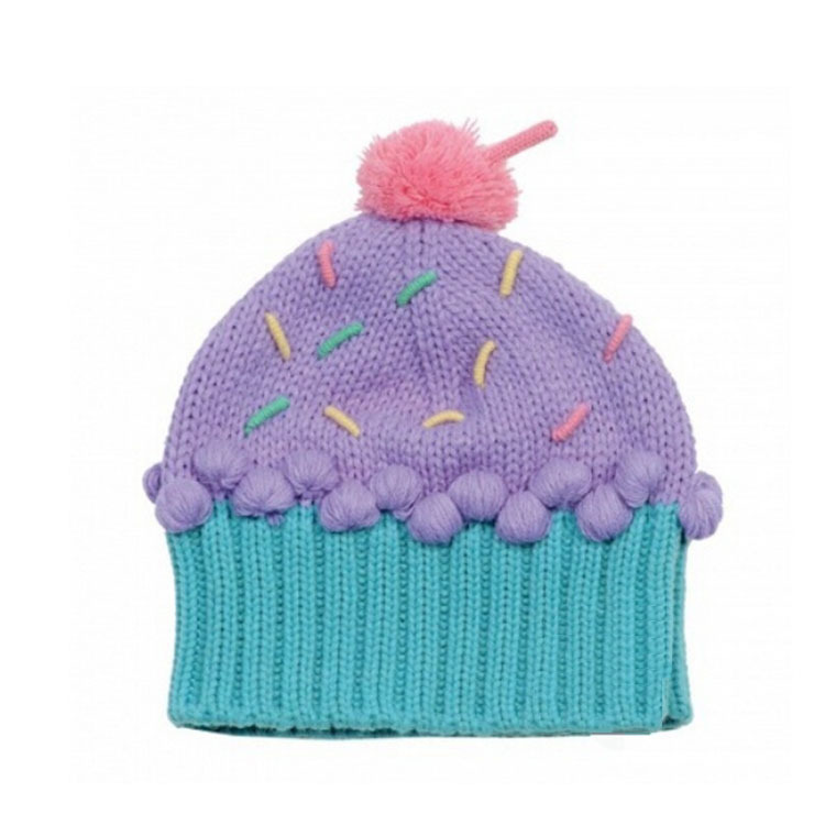 2-8 Years Candy Cake Hats For Children Baby Costume Photography Prop Hat Winter Beanie Cap For Kids Girls Outdoor Warm Hats(China (Mainland))