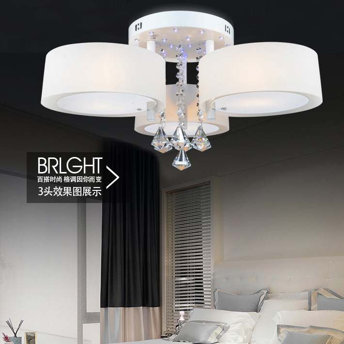 New ceiling lights modern ceiling lamps bedroom den for Glass ceiling bedroom