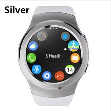 Buy Bluetooth Smartwatch MTK2502 Siri Smart Watch Sim Card Waterproof Heart Rate Monitor Reloj Android iOS PK gear s2 kw18 for $53.90 in AliExpress store