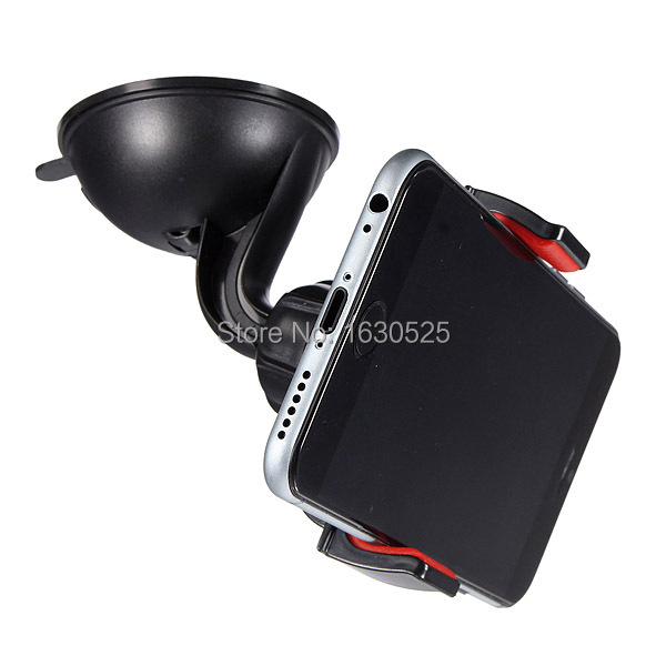 Excellent Quality Suction Car Universal Windshield Mount Holder Cradle For Note 4 3 For Xiaomi For iPhone 6 6 Plus 6+ 5 5s 5c(China (Mainland))