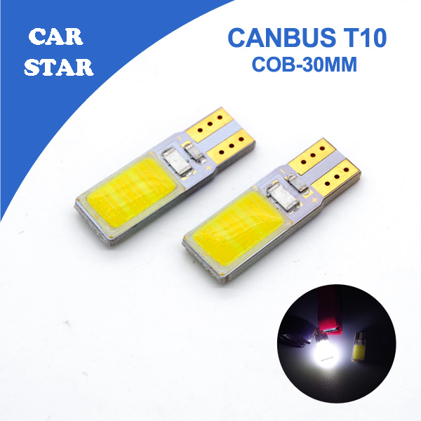 2pcs Free Shipping T10 COB Chips LED Canbus Error Free 31mm Dome Light Car Interior Lamp License Plate Panel Glove Box Lights(China (Mainland))