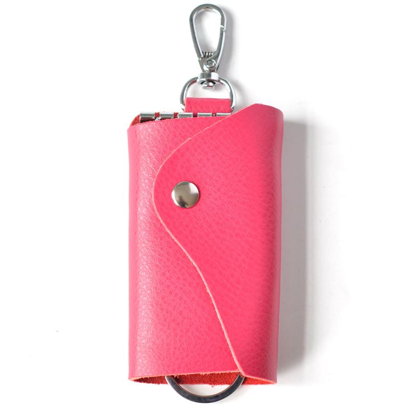 Wholesale 100% Genuine Leather Men Car Key Holder Women Multifunction Coin Purse Card Wallet Electronic Keys Hangin<br><br>Aliexpress