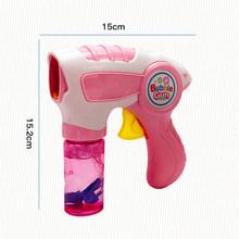 дети волшебной палочкой пузырь пистолет машина автоматически мыльный детей пузырь лёгкая музыка игрушки для детей(China)