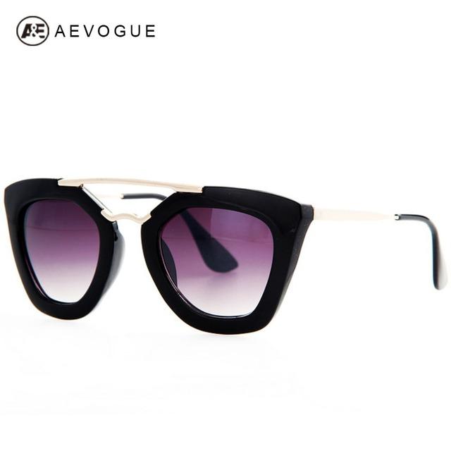 Очки aEVOGUE дизайн бабочка винтаж очки женщины самые популярные высокое качество солнцезащитные очки женский UV400 AE0132