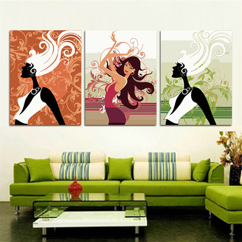 40x50cmxFrameless Pictures Painting Numbers DIY Digital Oil Canvas Home Decoration Wall Stickers HD0470 - (mix order$15 storeSunshine Store)