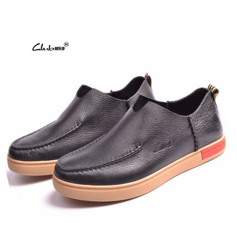 2015 Mens Casual Shoes Genuine Leather,Mens Loafers Shoes,Brand Man Shoes,Zapatos Hombre,Fashion Slip-on Flats,Free Shipping