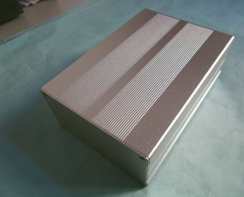 Haoli 1pcs siver 106*55*150mm aluminum DIY tube Power Amplifier Chassis Enclosure AQ(China (Mainland))